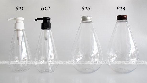 Cosmetic Bottle (2) 611-614