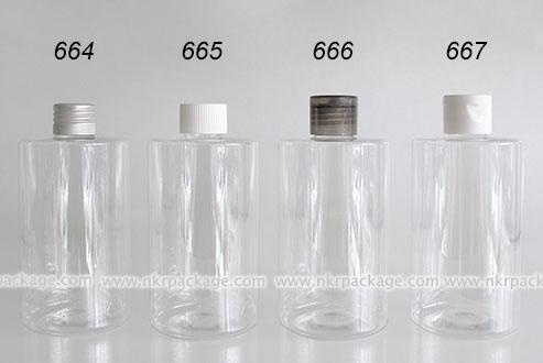 Cosmetic Bottle (2) 664-667