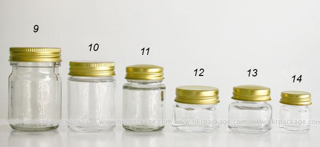 Glass bottle 9-14