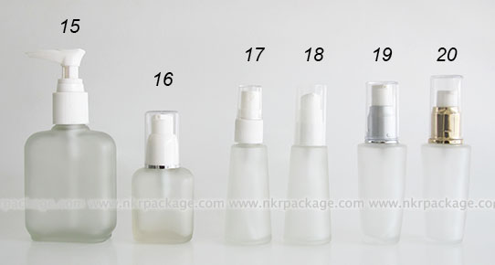 Glass bottle 15-20