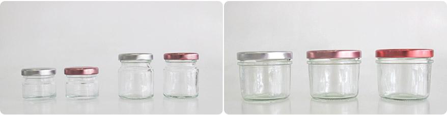 ขวดแก้วแยม 1 oz. ขวดแบรนด์ 40 ml.