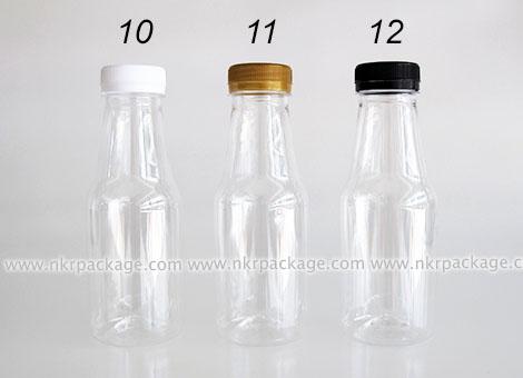 ขวดใส่น้ำดื่ม , ขวดน้ำผลไม้ และ ขวดใส่น้ำจิ้ม หมายเลข 10-12