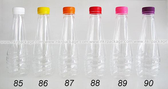 ขวดใส่น้ำดื่ม , ขวดน้ำผลไม้ และ ขวดใส่น้ำจิ้ม หมายเลข 85-90