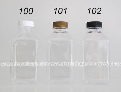 ขวดใส่น้ำดื่ม , ขวดน้ำผลไม้ และ ขวดใส่น้ำจิ้ม หมายเลข 100-102