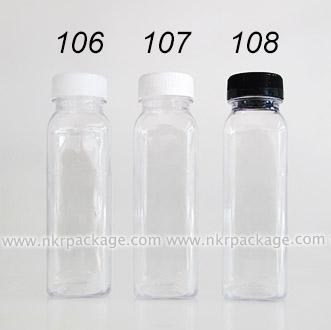 ขวดใส่น้ำดื่ม , ขวดน้ำผลไม้ และ ขวดใส่น้ำจิ้ม หมายเลข 106-108