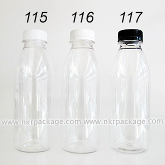 ขวดใส่น้ำดื่ม , ขวดน้ำผลไม้ และ ขวดใส่น้ำจิ้ม หมายเลข 115-117