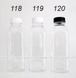 ขวดใส่น้ำดื่ม , ขวดน้ำผลไม้ และ ขวดใส่น้ำจิ้ม หมายเลข 118-120