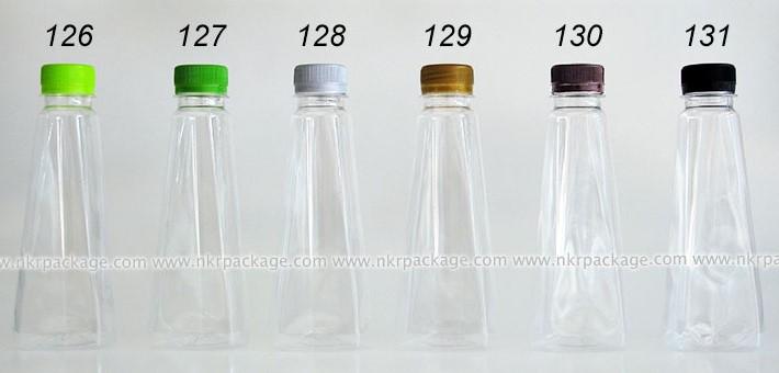ขวดใส่น้ำดื่ม , ขวดน้ำผลไม้ และ ขวดใส่น้ำจิ้ม หมายเลข 126-131