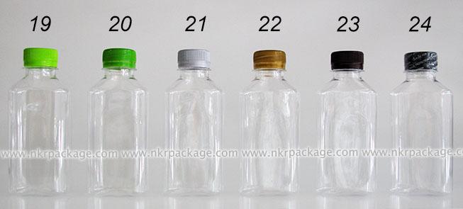 ขวดใส่น้ำดื่ม , ขวดน้ำผลไม้ และ ขวดใส่น้ำจิ้ม หมายเลข 19-24