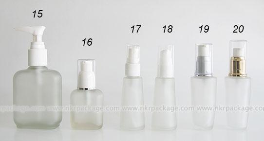 ขวดแก้วแบบขุ่น แบบ 15-20