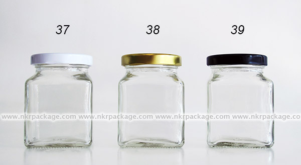 ขวดแยม/ขวดใส่น้ำผึ้ง/ขวดใส่น้ำพริก หมายเลข 37-39