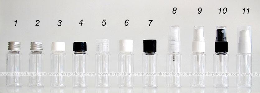 ขวดพลาสติก ขวดใส่เครื่องสำอาง (1) หมายเลข 1-11