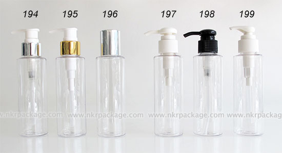 ขวดพลาสติก ขวดใส่เครื่องสำอาง แบบ 194-199