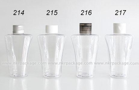 ขวดพลาสติก ขวดใส่เครื่องสำอาง แบบ 214-217