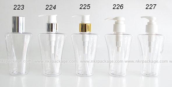 ขวดพลาสติก ขวดใส่เครื่องสำอาง แบบ 223-227