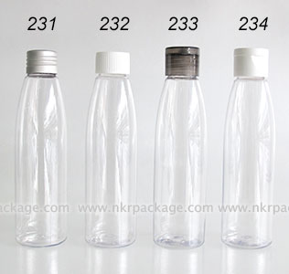 ขวดพลาสติก ขวดใส่เครื่องสำอาง แบบ 231-234