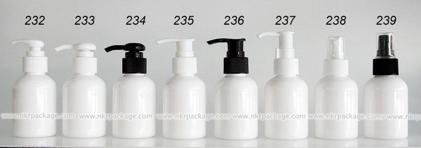 ขวดพลาสติก ขวดใส่เครื่องสำอาง (1) หมายเลข 232-239