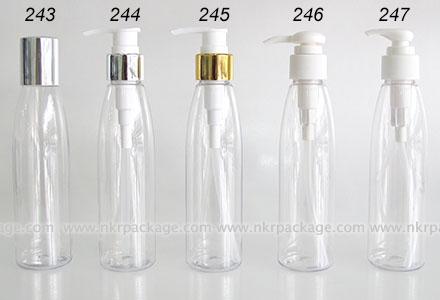 ขวดพลาสติก ขวดใส่เครื่องสำอาง แบบ 243-247