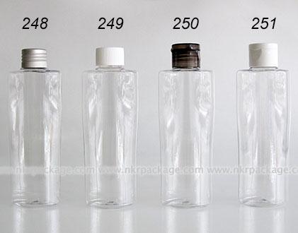 ขวดพลาสติก ขวดใส่เครื่องสำอาง แบบ 248-251