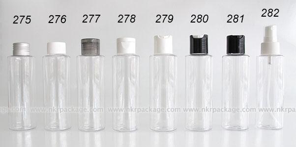 ขวดพลาสติก ขวดใส่เครื่องสำอาง (1) หมายเลข 275-282