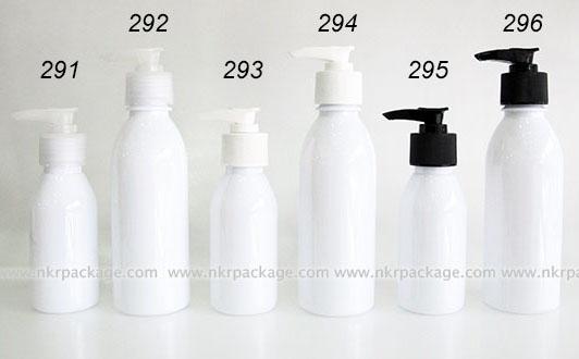 ขวดพลาสติก ขวดใส่เครื่องสำอาง แบบ 291-296
