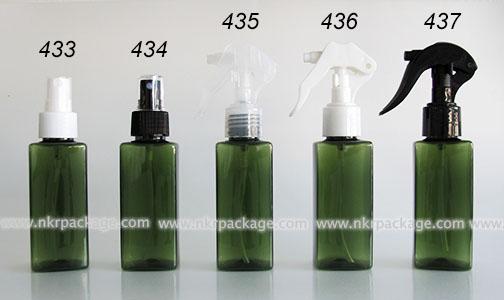 ขวดพลาสติก ขวดใส่เครื่องสำอาง (1) หมายเลข 433-437