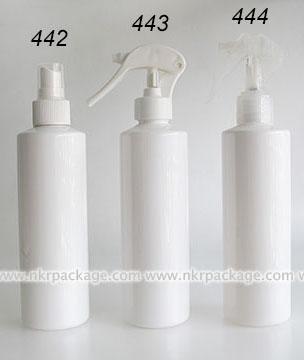 ขวดพลาสติก ขวดใส่เครื่องสำอาง แบบ 442-444