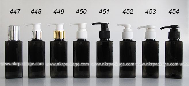 ขวดพลาสติก ขวดใส่เครื่องสำอาง (1) หมายเลข 447-454