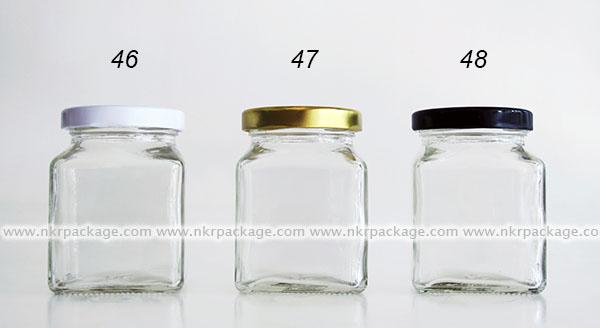 ขวดแยม/ขวดใส่น้ำผึ้ง/ขวดใส่น้ำพริก หมายเลข 46-48