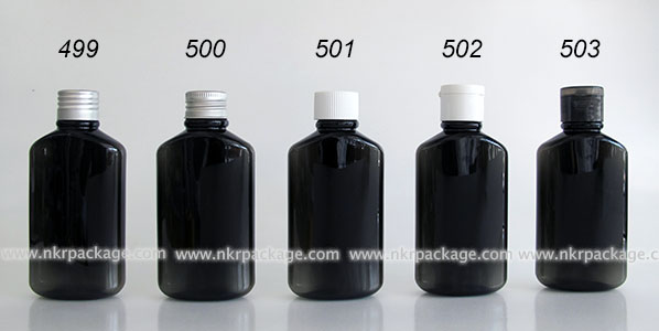 ขวดพลาสติก ขวดใส่เครื่องสำอาง (1) หมายเลข 499-503