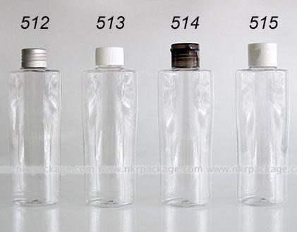 ขวดพลาสติก ขวดใส่เครื่องสำอาง (1) หมายเลข 512-515