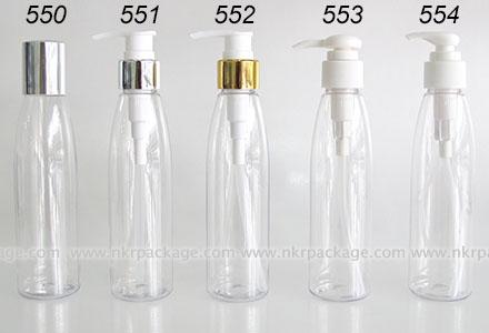 ขวดพลาสติก ขวดใส่เครื่องสำอาง (1) หมายเลข 550-554