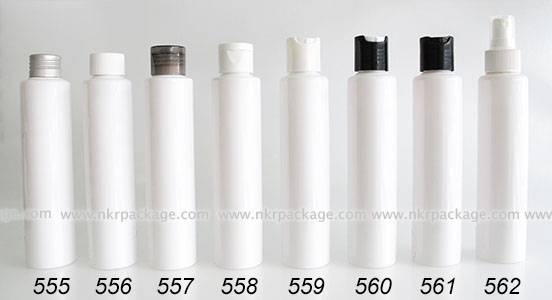 ขวดพลาสติก ขวดใส่เครื่องสำอาง (1) หมายเลข 555-562