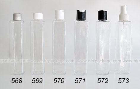 ขวดพลาสติก ขวดใส่เครื่องสำอาง (1) หมายเลข 568-573