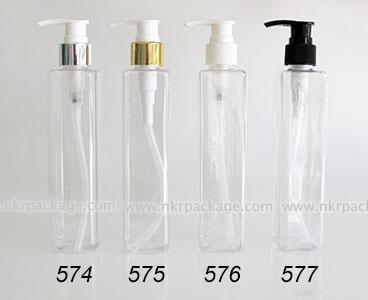 ขวดพลาสติก ขวดใส่เครื่องสำอาง (1) หมายเลข 574-577
