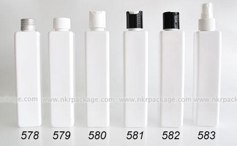 ขวดพลาสติก ขวดใส่เครื่องสำอาง (1) หมายเลข 578-583