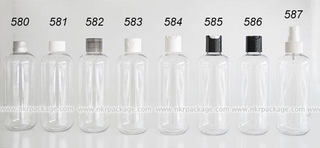 ขวดพลาสติก ขวดใส่เครื่องสำอาง แบบ 580-587