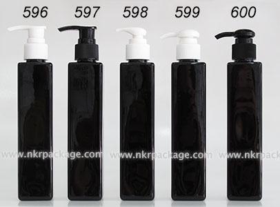 ขวดพลาสติก ขวดใส่เครื่องสำอาง (1) หมายเลข 596-600
