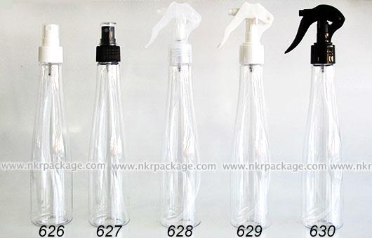 ขวดพลาสติก ขวดใส่เครื่องสำอาง (1) หมายเลข 626-630