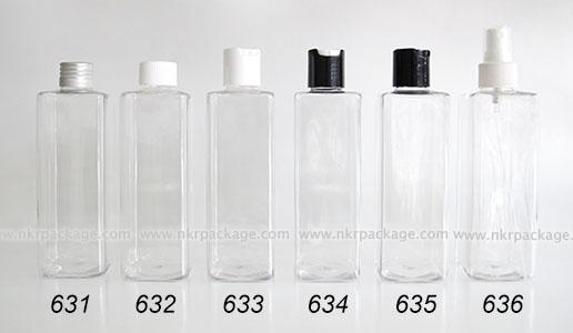 ขวดพลาสติก ขวดใส่เครื่องสำอาง (1) หมายเลข 631-636