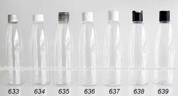 ขวดพลาสติก ขวดใส่เครื่องสำอาง แบบ 633-639