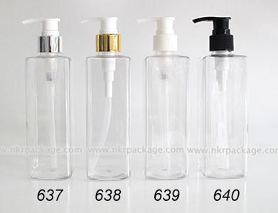 ขวดพลาสติก ขวดใส่เครื่องสำอาง (1) หมายเลข 637-640