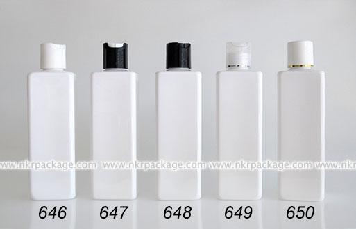 ขวดพลาสติก ขวดใส่เครื่องสำอาง (1) หมายเลข 646-650