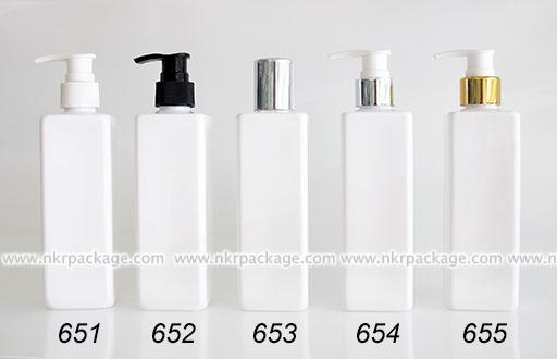 ขวดพลาสติก ขวดใส่เครื่องสำอาง (1) หมายเลข 651-655