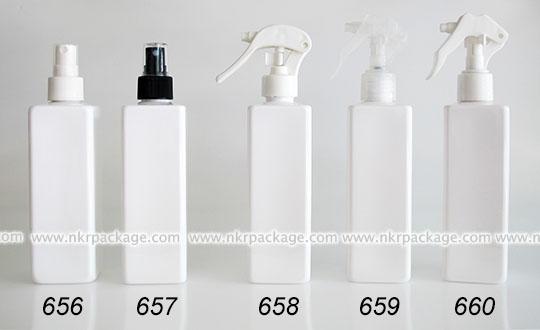 ขวดพลาสติก ขวดใส่เครื่องสำอาง (1) หมายเลข 656-660