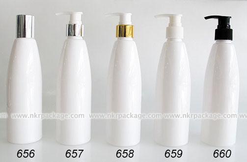 ขวดพลาสติก ขวดใส่เครื่องสำอาง แบบ 656-660
