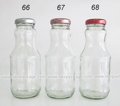 ขวดแก้วน้ำผลไม้ หมายเลข 66-68