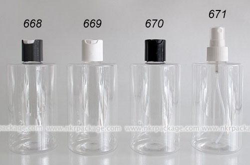 ขวดพลาสติก ขวดใส่เครื่องสำอาง แบบ 668-671