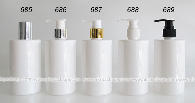ขวดพลาสติก ขวดใส่เครื่องสำอาง แบบ 685-689