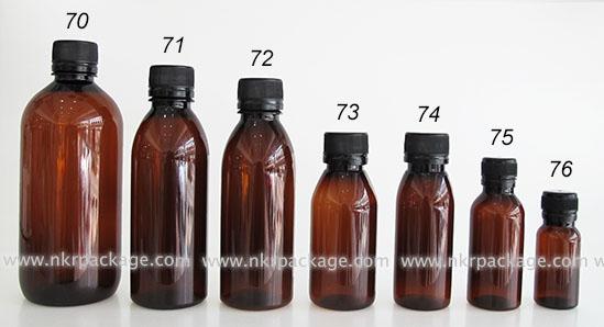 ขวดยา หมายเลข 70-76